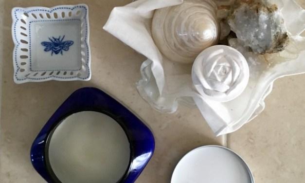 3 ingredient Homemade Deodorant