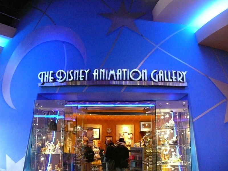 Image result for disney animation gallery disneyland paris