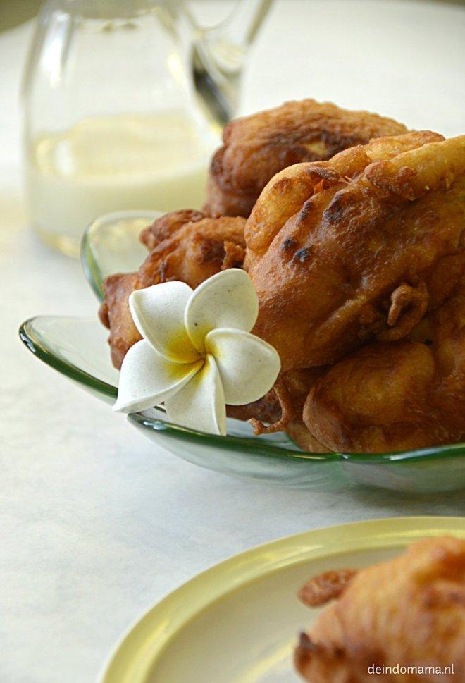 pisang goreng- gebakken- banaan