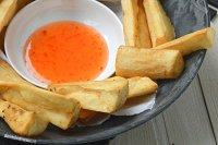 Gebakken- cassave