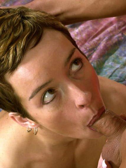 image Vicky macht einen geilen blowjob very good feeling