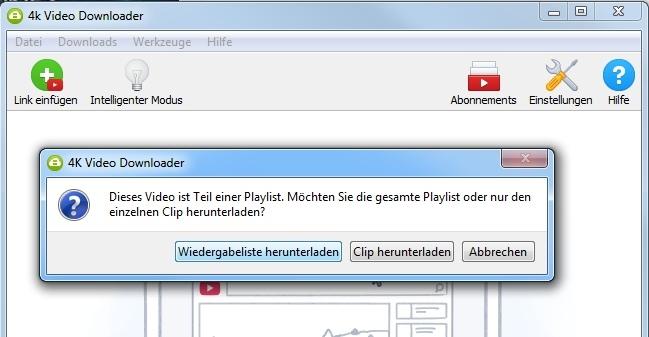 youtube ganze playlist downloaden