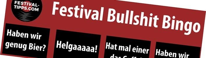 Festival Bullshit Bingo