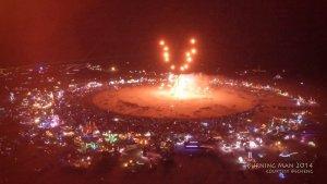 das burning man festival  au