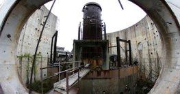 in einem verlassenen atomkraftwe