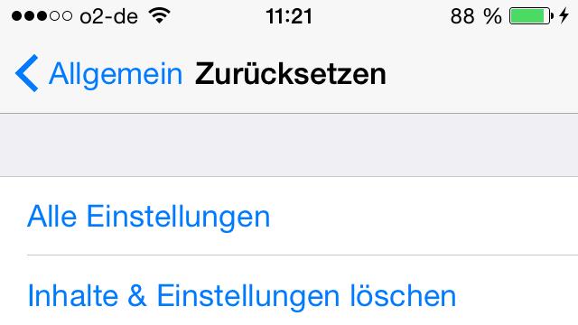 wlan entfernen iphone