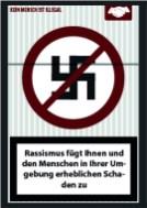 Sticker Contest gegen Rassismus - eingesendete Motive