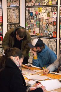 StreetToons Exhibition at Hatch Stickermueum