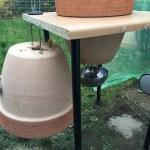 Tisch für Keramikgrill