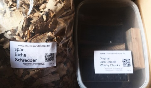 Räucher Chunks von Chunks and More