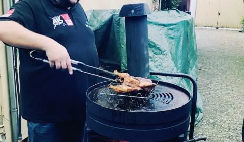 Kikok Hähnchen Road Kill Style vom Beef Buddy