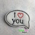 I HEART You Bubble