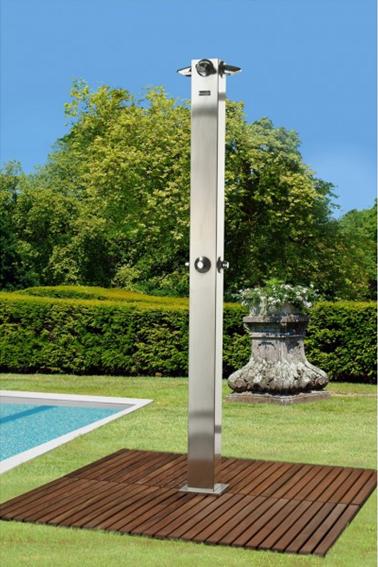 Agrega una ducha para jard n a tu espacio - Ducha de jardin ...