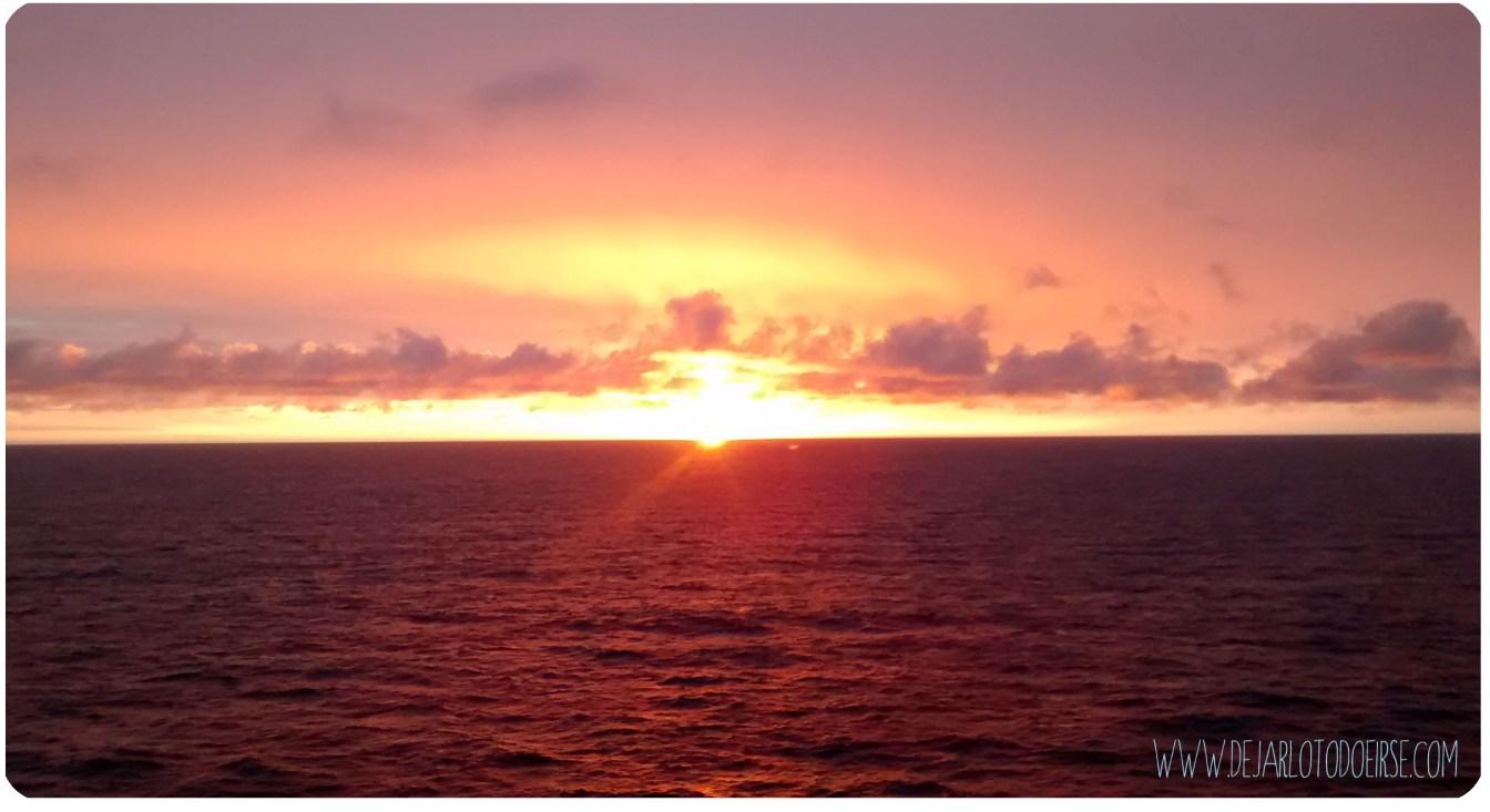 sol de media noche crucero