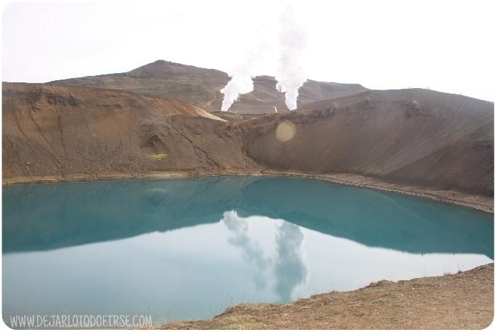 15 dias en islandia volcán viti