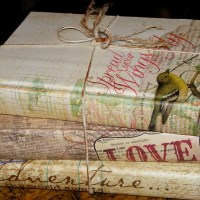 A new look....for an old book. Uses for old books