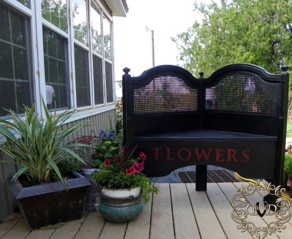 headboard garden bench Bedhead headboard garden bench