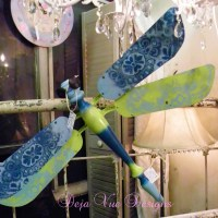 More Dragonflies...and a Lace Tutorial