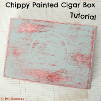 Chippy Paint Cigar Box Tutorial