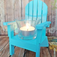 Paint Your Own Mini Adirondack Chair