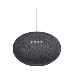 Google Home Mini Houtskool