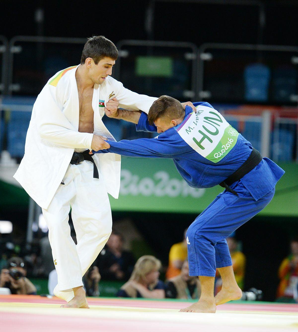 Olimpiadas lucha judo