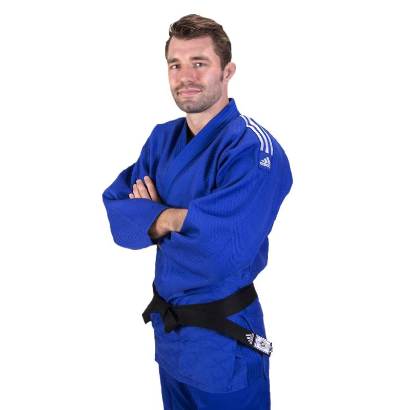 Adulto con judogi azul Adidas