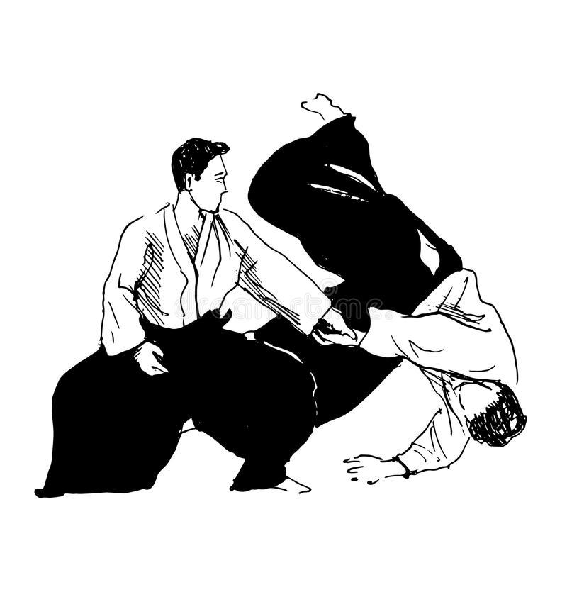Dibujo de Aikido