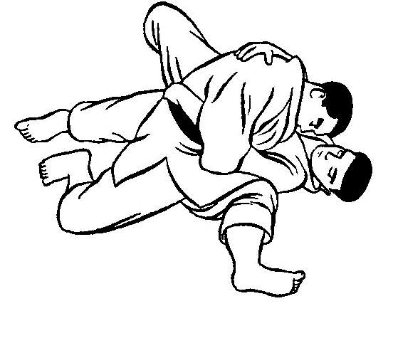 Dos judocas para dibujar