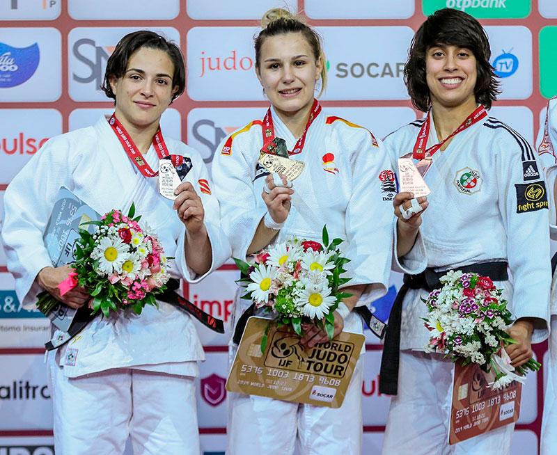 Laura Martinez medalla de oro judo