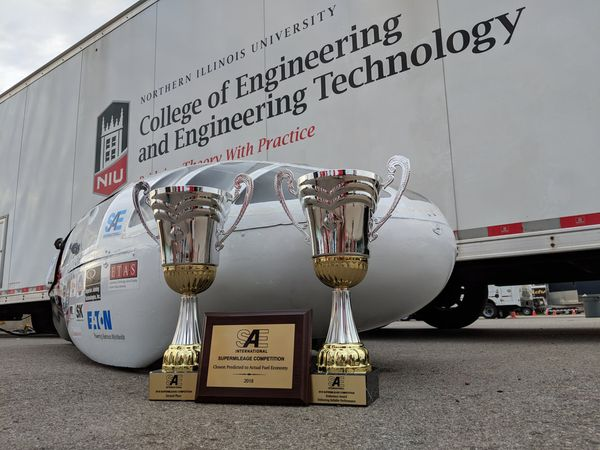 NIU's Supermileage Takes 3rd in International Competition