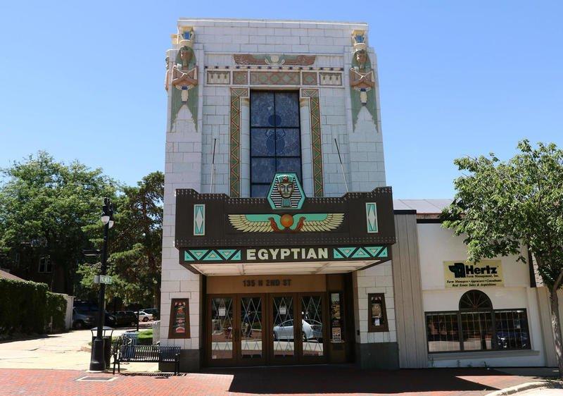 Take a tour of Egyptian Theatre expansion