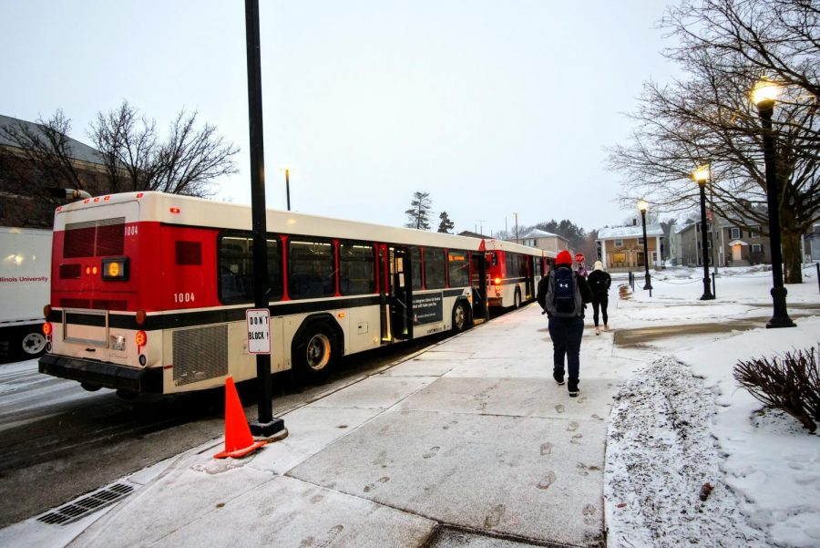 Bus Driver Shortage, COVID-19 Lead To Reduced Huskie Line Service