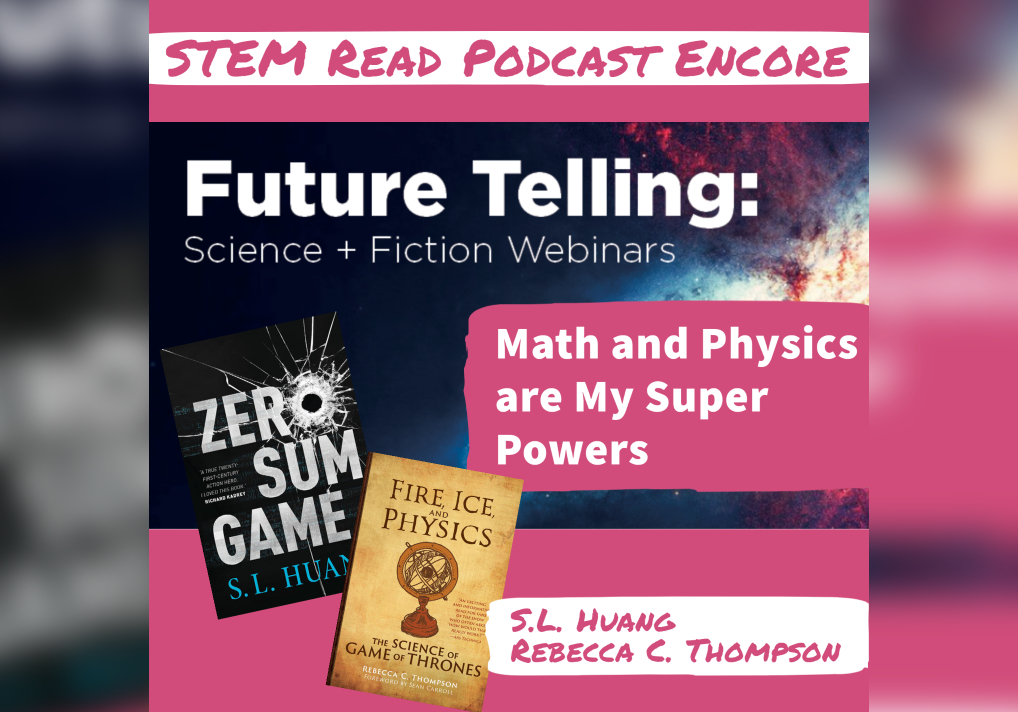 The STEM Read Podcast Math And Physics Are My Superpowers