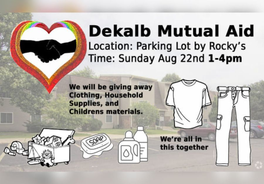 DeKalb Mutual Aid Event - August 22nd