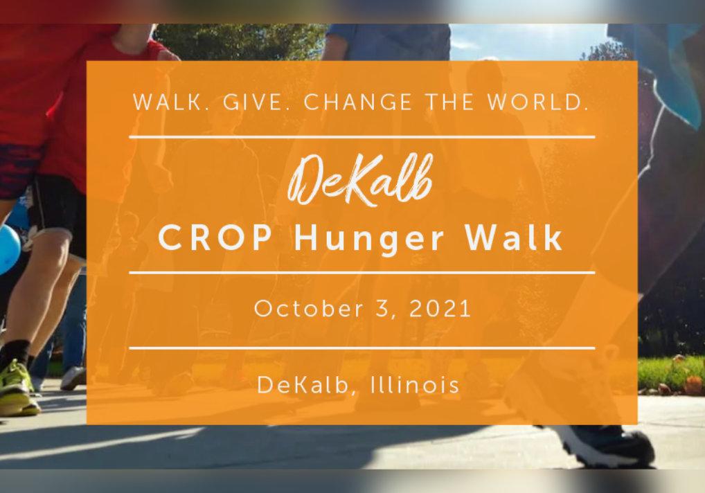 DeKalb CROP Hunger Walk - October 3rd
