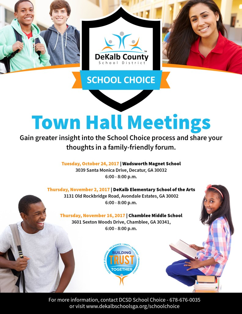 School Choice Expo 2017 Flyer 2