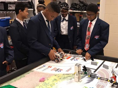 freebots-table | Help Robotics Team Travel to Study Flint Water Crisis