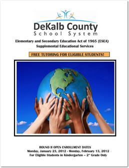 Supplemental Educational Services Brochure