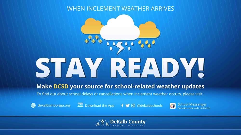 Emergency Weather Plan – DeKalb County School District