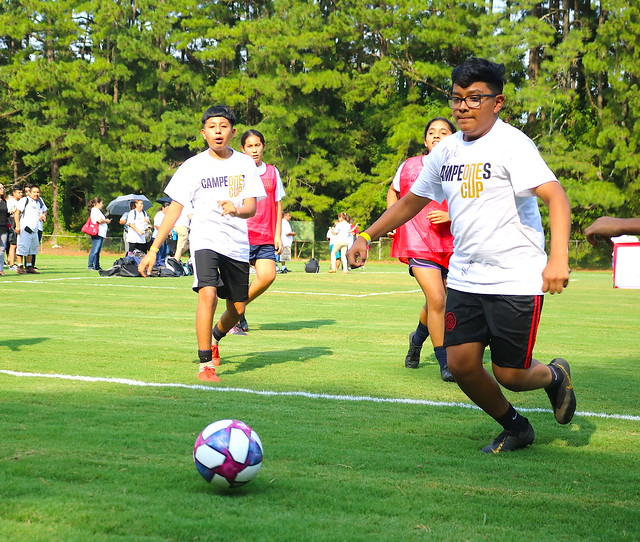 MLS Teams Up with Sequoyah Middle for Campeones Cup