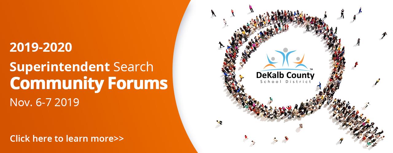 Superintendent Search Community Forum