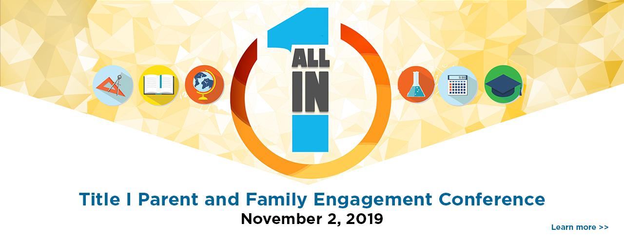 2019 Parent Engagement Conference