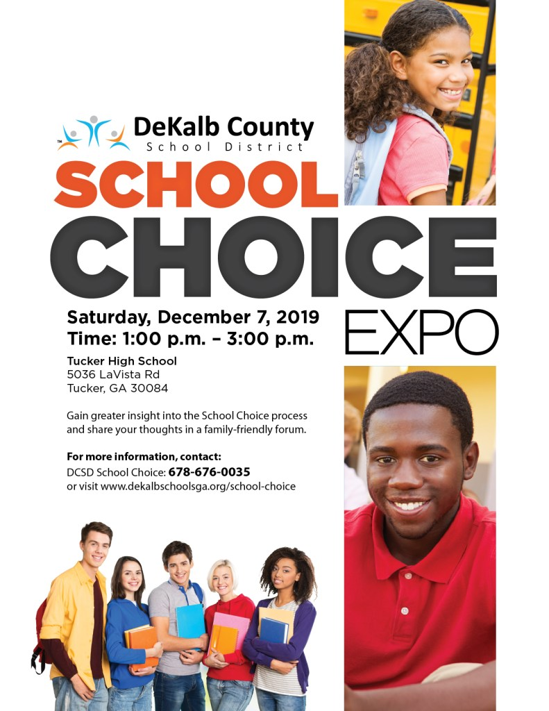 School Choice Expo 2019 Flyer