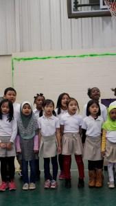 Indian Creek Elementary chorus