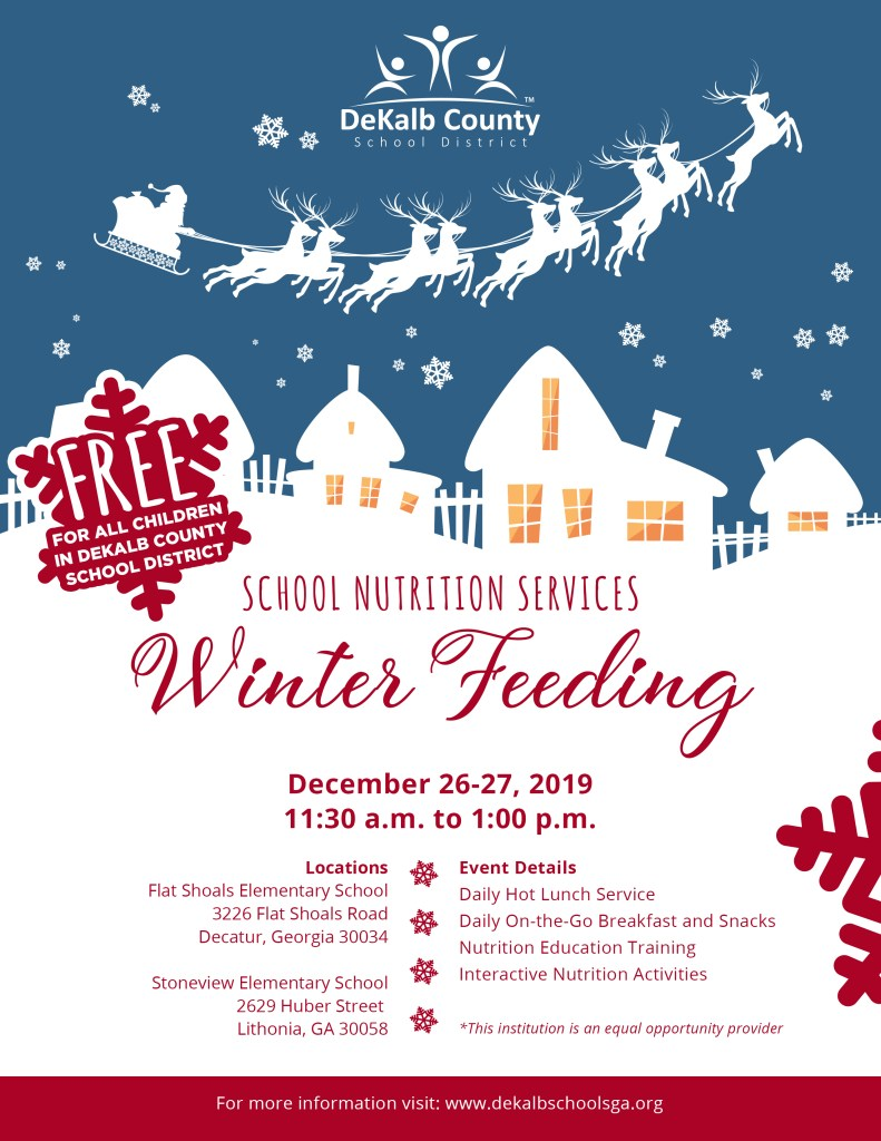 Winter Feeding 2019 flyer
