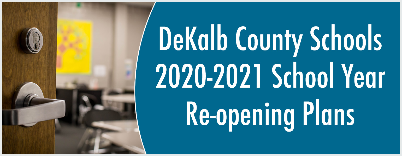 school re-opening banner