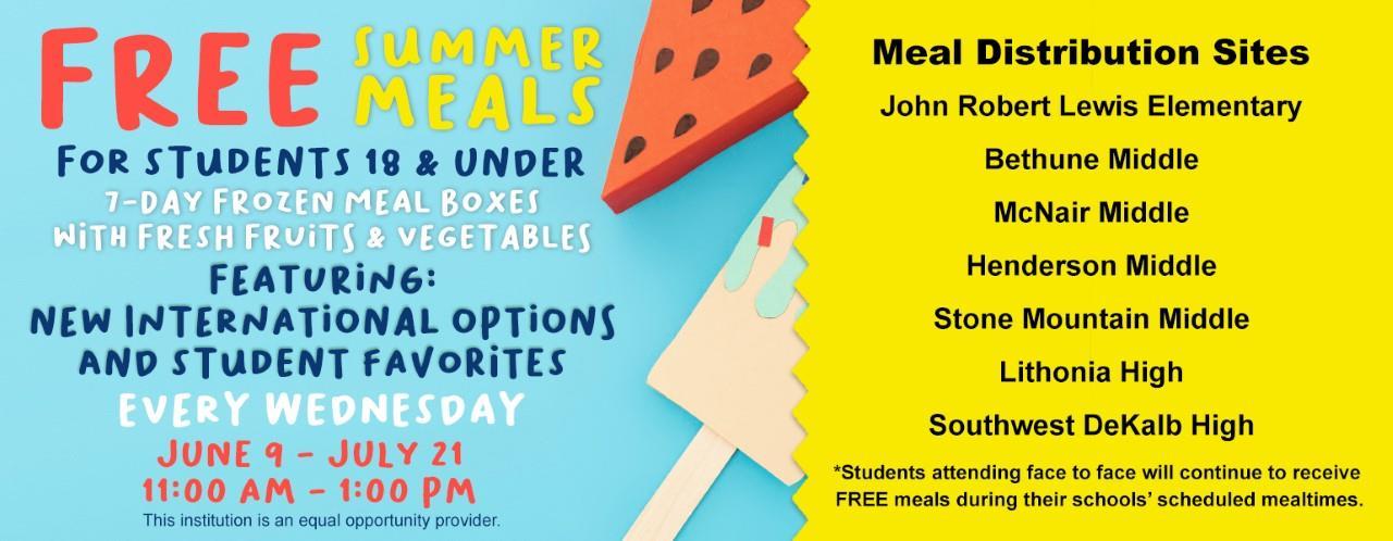 Updated summer meals web banner 2021