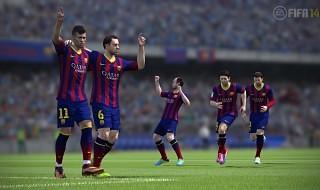 Gameplay de la versión de FIFA 14 para Xbox 360 y PS3 desde la Gamescom