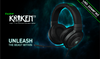 Nuevos auriculares Razer Kraken 7.1 USB